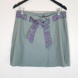 NIKE Dri Fit Golf Wrap Skirt Belt Size 6  A0910